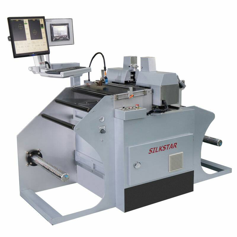 High Speed Automatic Roll to Roll CCD Camera Registration Punching Machine