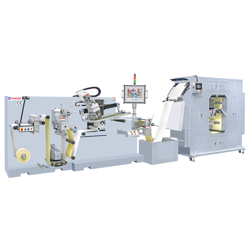 High Speed Automatic Roll to Roll Silk Screen Printing Machine